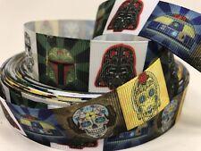 Star Wars The Force Awakens Grosgrain Ribbon 2.2cm  x 1 Metre Sewing//Crafts//Cake
