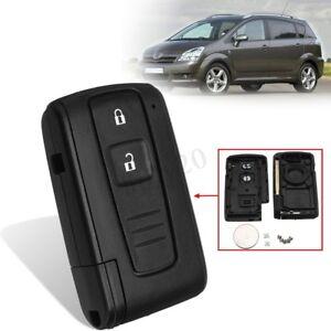 Chiave-Cover-guscio-telecomando-amp-lama-staccabatteria-per-Toyota-Corolla-Verso-P