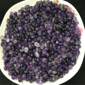 Collectible Crystals Amethyst Ore Crushed Gravel Stone Chunk Lots Degaussing crystal Improve tumbled