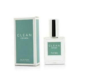 Clean-for-men-Dlish-1-0-oz-EDT-eau-de-toilette-spray-cologne-30-ml-NIB