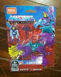Mega Construx Masters of The Universe: 29pc Skeletor & Flocked Panthor - #GVY17