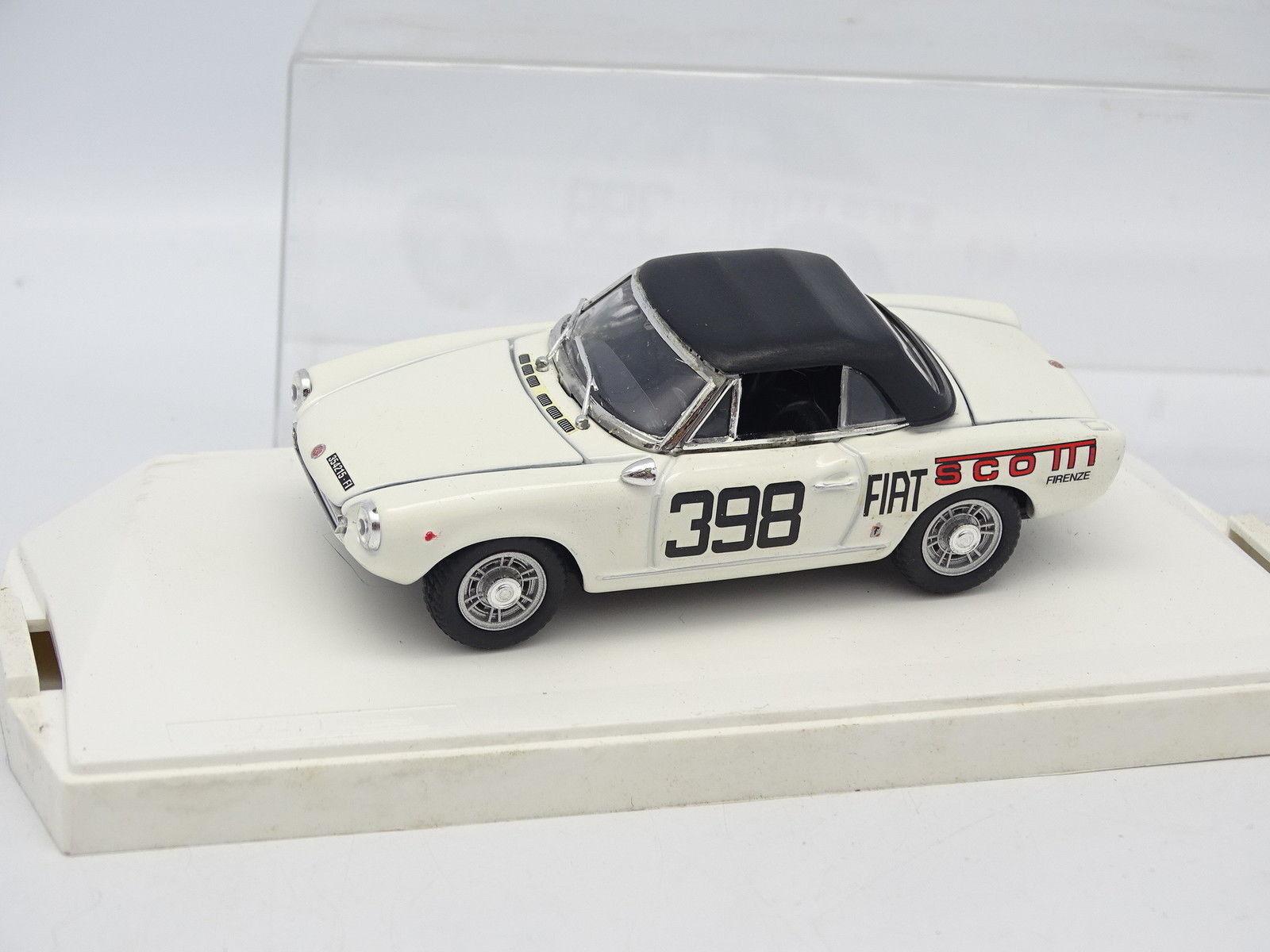 Exem 1 43 - Fiat 124 Spider Spider Spider 1400 Scotti Fiat 1968 9e1439