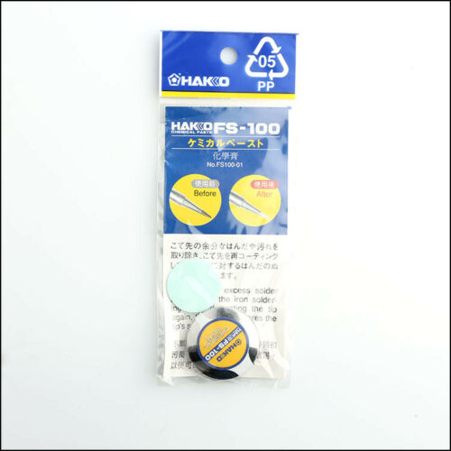 1pc NEW Japan-Iron tip Polisher Chemical paste FS-100 FS100-01 10g