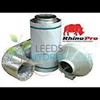 """6"""" 150mm RVK Fan A1 and Rhino filter kit 150mm/300mm"""