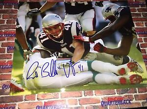 Raymond Bubba Ventrone Autographed 8x10 New England Patriots Super