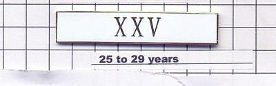 25 to 29 Years of Service Longevity XXV Bar from the New York City Police Dept.