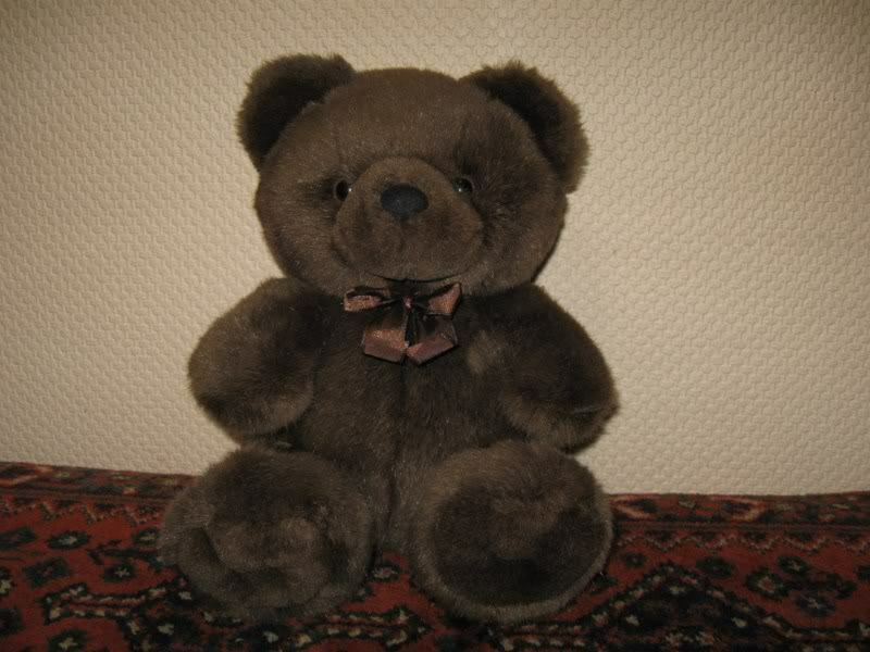 Vintage Dutch Hema Holland Chocolate braun Teddy Bear