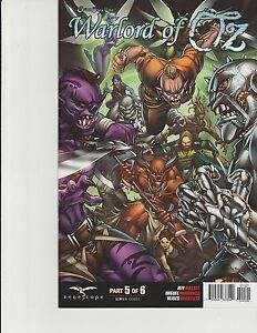 Warlord of Oz #6 Cover C GFT Grimm Fairy Tales Zenescope Comic NM Qualano