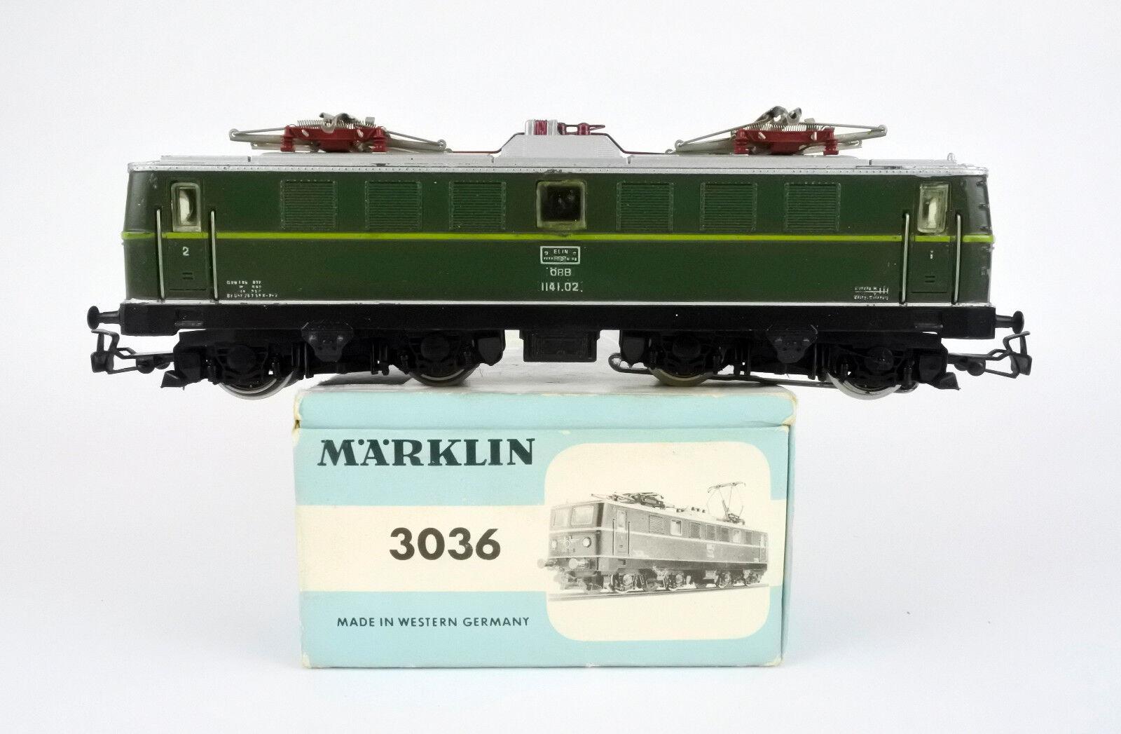 MARKLIN HO SCALE 3036 DIECAST OBB Grün ELECTRIC ENGINE  1141.02