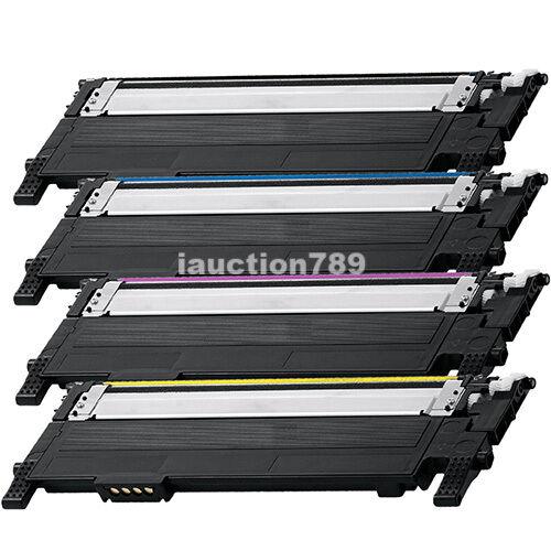 4 Generic CLT-406S Toner For Samsung CLP360 CLP365 CLX3300 CLX3305 SLC410W