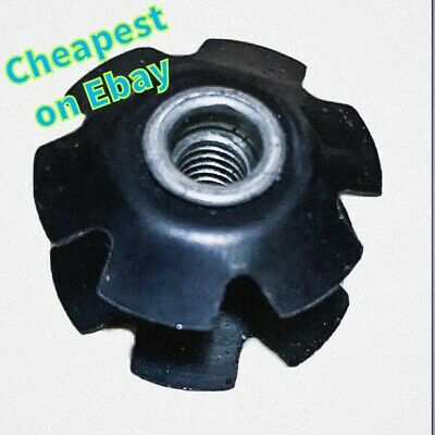 """1 X Star Nut for 1"""" Steerer Bike Bicycle  Scooter Headset Double Flanged"""