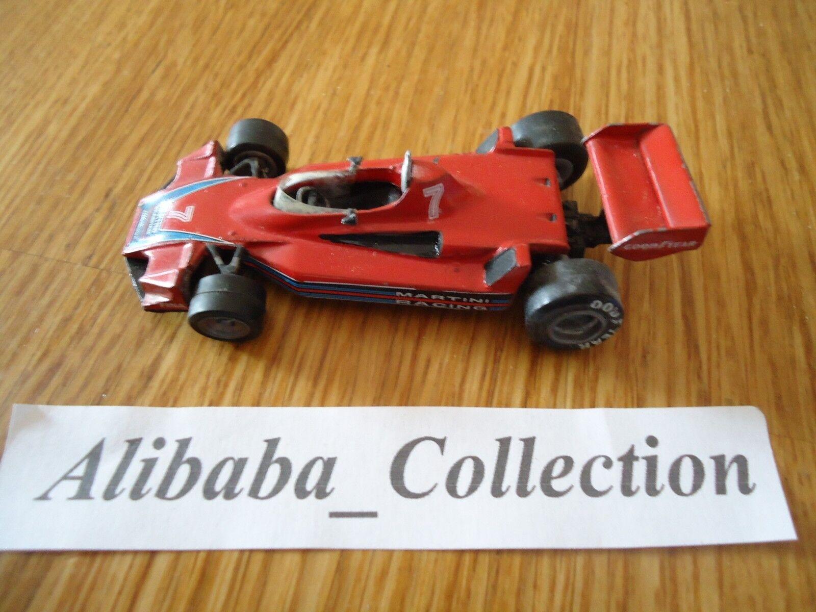 TENARIV rosso Martini Brabham BT44B Racing Car 1976 1/43 F1 Formule 1 KIT