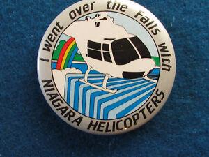 Niagara-Falls-Canada-Button-Badge-1980-039-s-Niagara-Helicopters