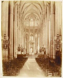 Interieur-de-la-Cathedrale-Bourges-c1870-Photographie-albuminee-ancienne-29-cm