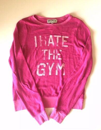 Felpa The I Gym Hate Wildfox wzqIP