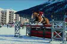728082 Show Jumping Saint Moritz Switzerland A4 Photo Print