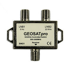 (50) Fiftey - GEOSATpro 22Khz Tone Controlled 2x1 Switch