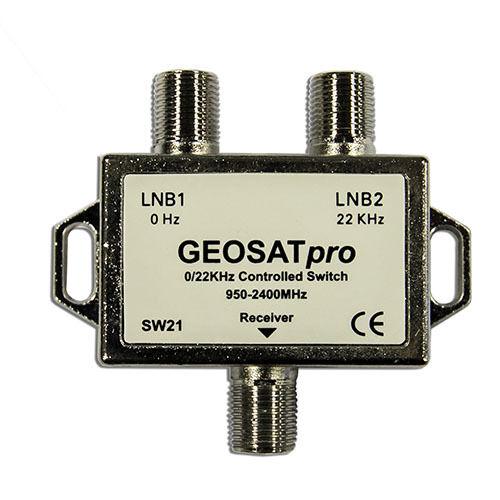 Lot of GEOSATpro 22Khz Tone Controlled 2x1 Switch Fifty 50