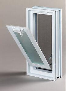 Lüftungsfenster Lüftungsflügel 189x384mm Statt 2 Glasbausteine
