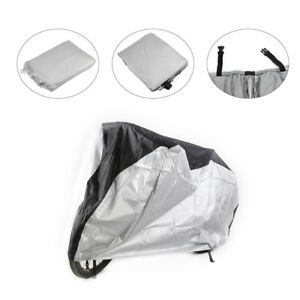 Waterproof-Bike-Cover-Bicycle-Outdoor-UV-Dust-Rain-Snow-Cover-Shield-Black-Silve