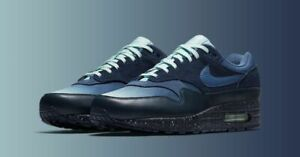 Details about Nike Air Max 1 Gradient Toe Obsidian Blue Black Cement 875844 402 Men's 15 Shoes