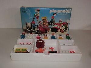 Playmobil Klicky 3400 Superset 7er Set Baustelle Bauarbeiter Bierkasten Ovp