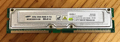 256MB PC800 RDRAM Memory Genuine 1818-8540