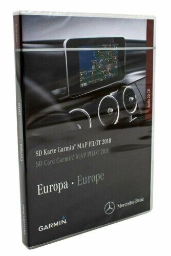 Europa nuevo Original Mercedes-Benz Garmin Map Pilot 2018 a2189062903 tarjeta SD
