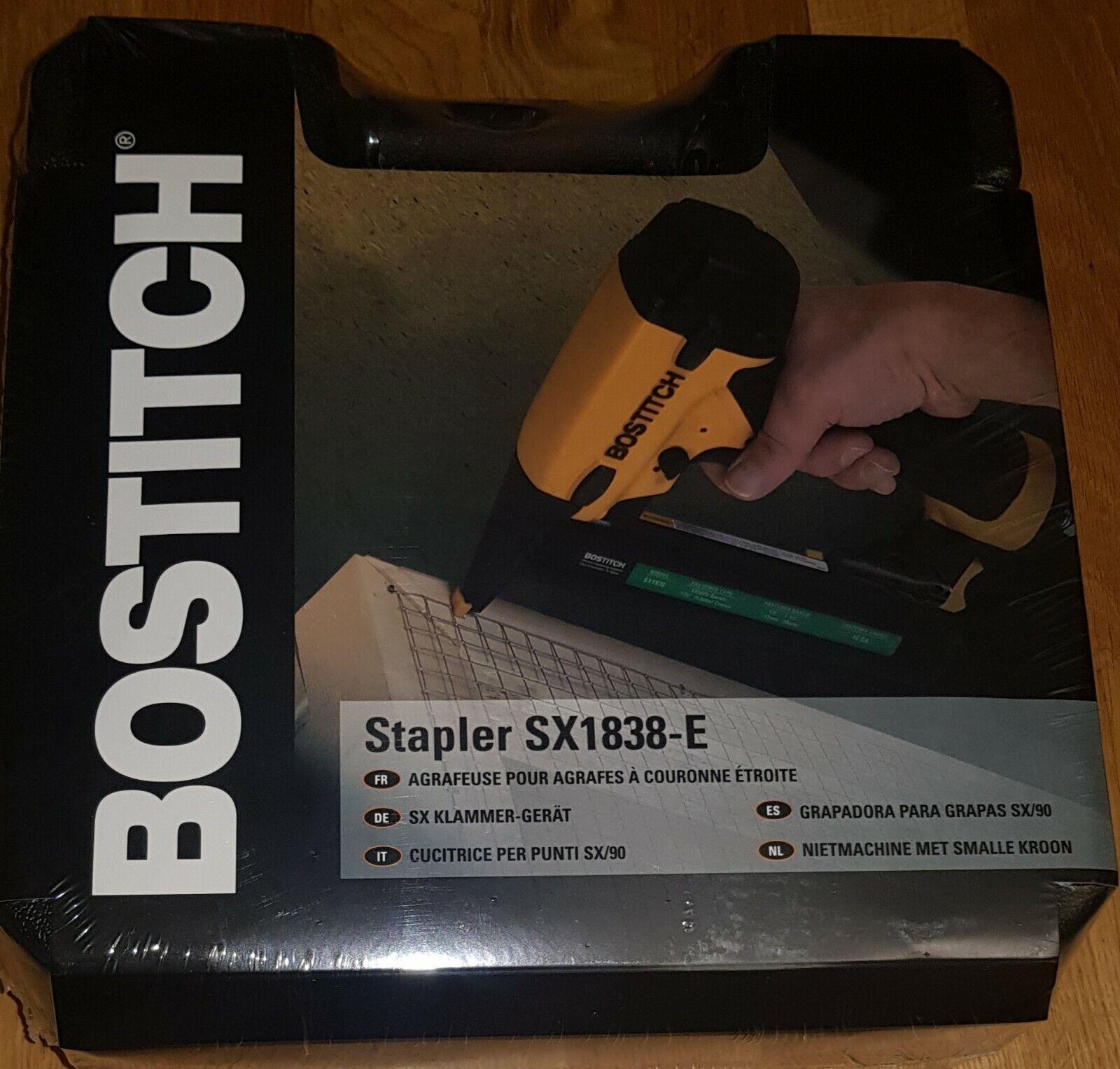 Bostitch BOSSX1838E Stapler 38mm 18g SX1838E