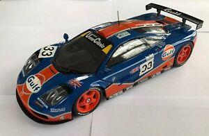 1/18 McLaren F1 GTR GULF 33 UT MODELS non Autoart in Scatola