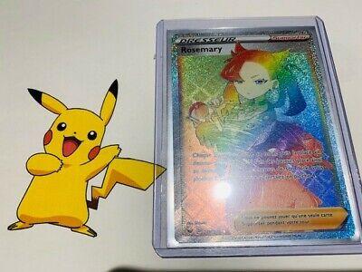 Carte Pokemon ROSEMARY 169//202 Holo Epée et Bouclier 1 EB01 FR NEUF