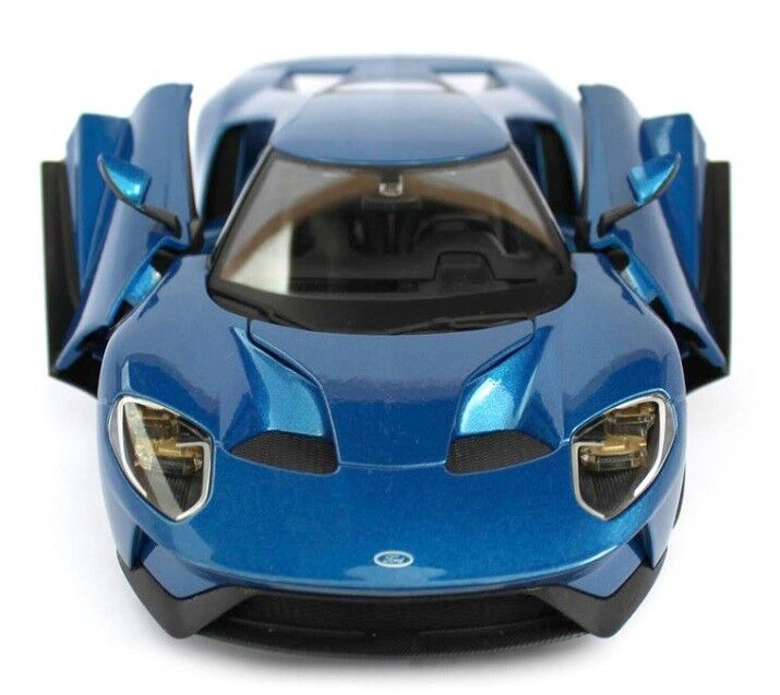 MAISTO FORD GT 1 18 Scale Model DieCast Sports Sports Sports Race Car blueE m3184 0b29f6