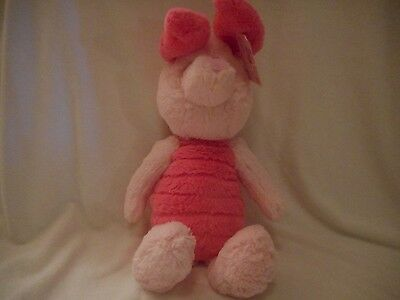DISNEY WINNIE THE POOH COLLECTION DISNEY PIGLET 13 INCHES GUND STUFFED ANIMAL