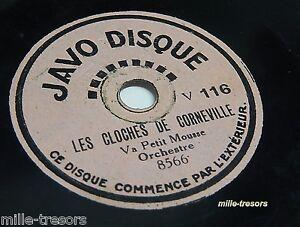 Rationnel 78 Tours Pour Enfants Javo Disque : Les Cloches De Corneville - Faust (la Valse)