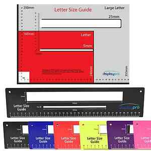 Royal mail letter postal template size guide postage package ruler image is loading royal mail letter postal template size guide postage spiritdancerdesigns Images