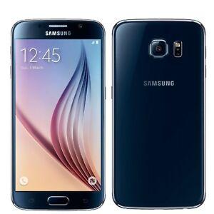 0388dffdb BNIB Samsung Galaxy S6 32GB SM-G920F Black Factory Unlocked 4G LTE ...