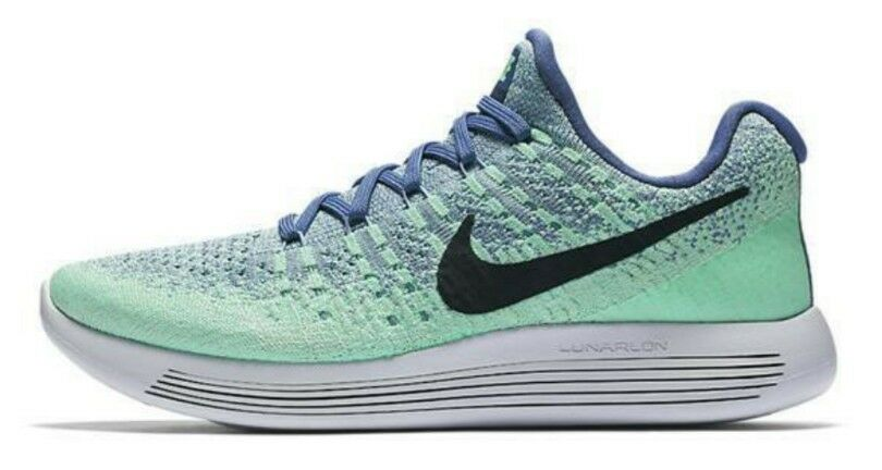 Nike lunarepic basso Flyknit 2 Moon Blue Moon 2 OSSIDIANA NUOVO CON SCATOLA 863780 403 in esecuzione 238f5b