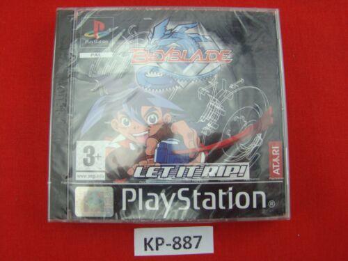 1 von 1 - Playstation 1 - Ps1 Spiel Beyblade: Let It Rip ! NEU SEALED