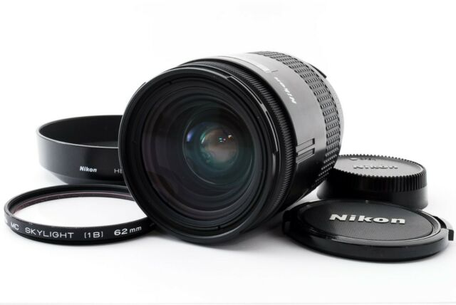 Nikon AF Nikkor 28-85mm f/3.5-4.5 Zoom Objektiv mit Kapuze TOP + + Japan getestet