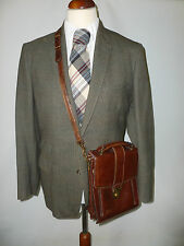 MENS HEAVYWEIGHT PURE WOOL COUNTRY TWEED  SUIT  -- SIZE UK 38R BRITISH MADE