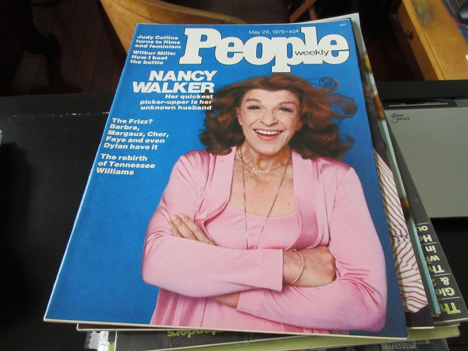 People Weekly , May 26 ,1975 , Nancy Walker , Judy Coll