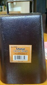 7 Inch Steel Cow Bell with Handle and Antique Copper Finish