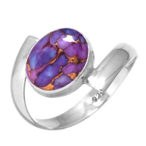 925 Sterling Silver Gemstone Ring Handmade Jewelry Size 5 6 7 8 9 10 11 12 ew186