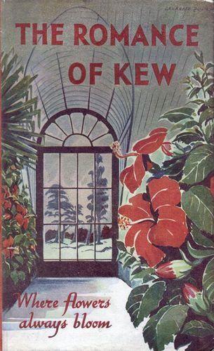 Vintage Kew Gardens Romance  Poster Print A3//A4
