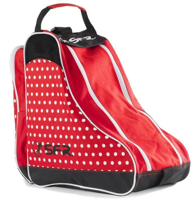 SFR Designer Ice und Skate Bag Tasche für Rollschuhe und Schlittschuhe rot NEU