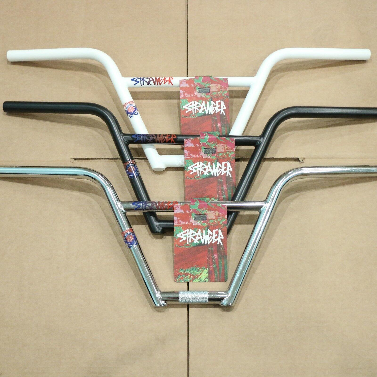 STRANGER PISTON 4pc BAR  9.25  Rise BMX BIKE HANDLEBARS CONNOR KEATING  shop online