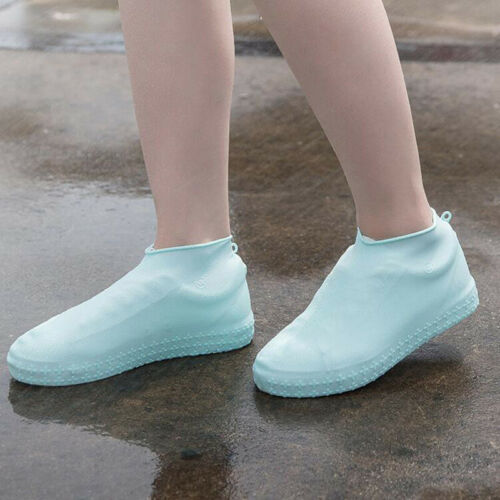 Unisex Silicone Waterproof Slip-resistant Outdoor Boots Sport Rain Shoe Covers