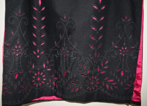 rok In 6 etiket 8 kanten Roze Made voering Origineel Usa Anthropologie f7gY6yvb