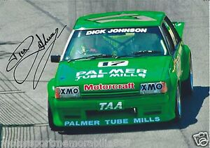 Dick-Johnson-SIGNED-6x4-or-8x12-photos-V8-Supercars-DJR-FORD-FAST-POSTAGE