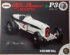 Revival 1:20 - Alfa Romeo P3 Muletto 1932 - Bausatz Metall kit diecast - NEU